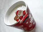 Forró karácsonyi ízes tej készítése