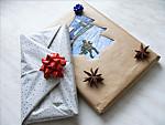 Könyv csomagolás ötletek ünnepekre, karácsonyra részlet
