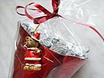 Szaloncukor tölcséres csomagolása karácsonyra részlet