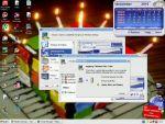 Karácsonyi téma telepítése Windows XP operációs rendszerre részlet