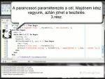 Programozás Pascalban: Fájlkezelés - 10. rész, Parancssori paraméterek - 3 részlet
