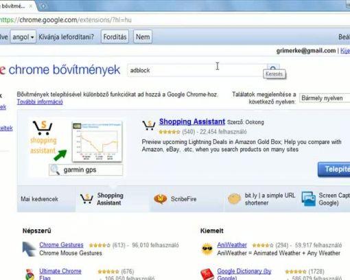 597f069bba Adblock bővítmény alkalmazása Google Chrome böngésző alatt - Adblock ...
