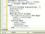 Programozás Pascalban: Fájlkezelés - 12. rész, Típusos fájlok 4. részlet