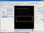 AutoCAD 2007: Színes vonalak készítése részlet