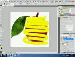 Adobe Photoshop CS4: Tárgy térbeli körberajzolása részlet