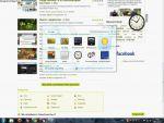 Windows 7: Minialkalmazások használata részlet