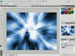 Adobe Photoshop: Egyszerû fényrobbanás készítése részlet