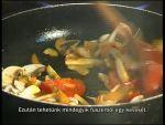 Szűzpecsenye zöldséges raguval sütőben Rosecas burgonyával