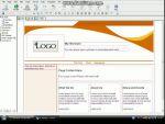 Weblap létrehozása Ewisoft Website Builder segítségével - 1. rész részlet
