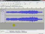 Audacity: Vágás, zenék egymásba fûzése részlet